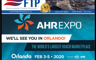 Visit Our Booths ASHRAE Expo 2020 Feb. 3-5