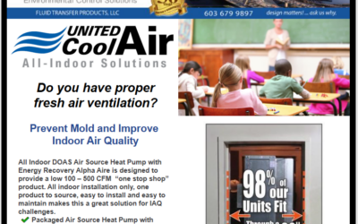 Do you have proper fresh air ventilation? United Cool Air